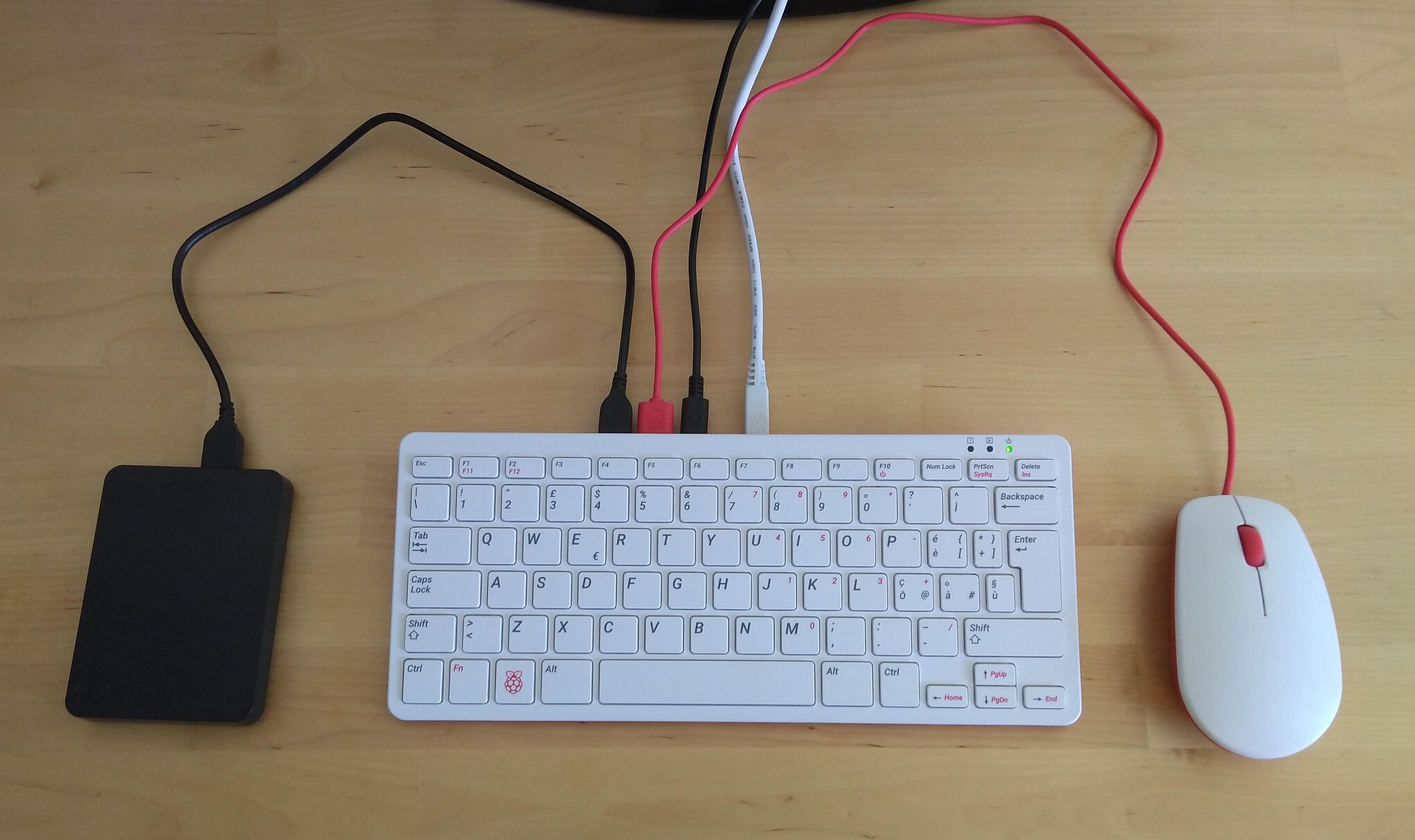 A Raspberry 4 Pi